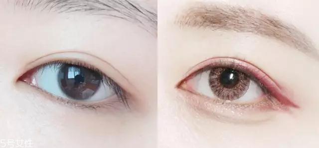 眼影怎么画好看图图片