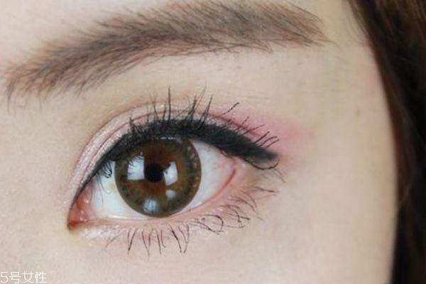 紫色和粉色眼影怎么画好看图片