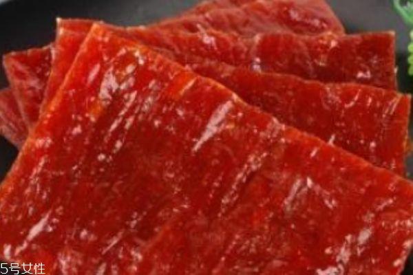 自制猪肉脯的做法 教你在家里也能做出美味的猪肉脯