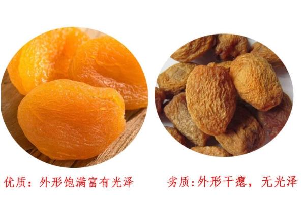 如何挑选杏干 杏干什么颜色才正常