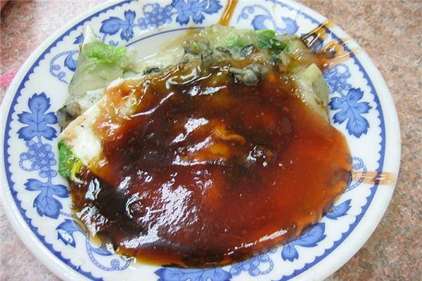 蚵仔煎的做法 台湾小吃之光