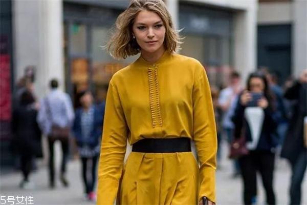姜黄色搭配什么颜色好看 轻松穿出高级感