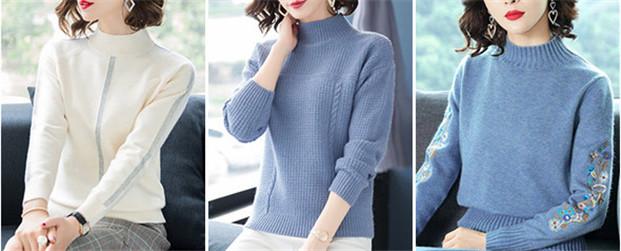 冬天毛衣怎么搭配 时髦又保暖