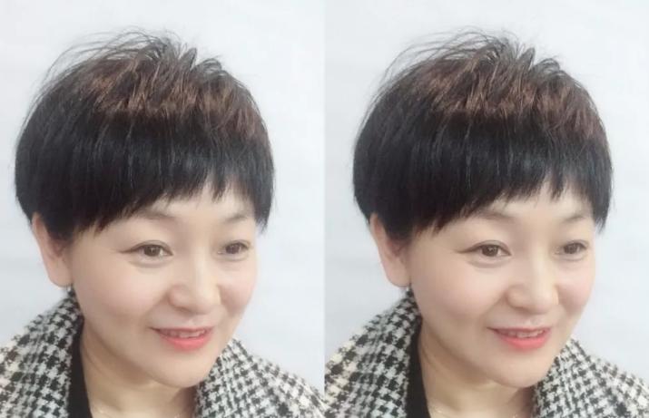 中年什么发型减龄 中年女人减龄发型图片