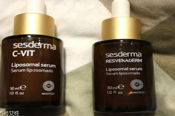 sesderma白藜芦醇精华怎么使用 可以搭配cvit使用