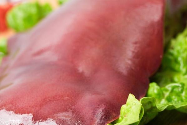 猪肝能补血吗 有这个功效