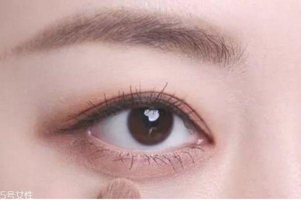 奶茶豆沙色眼影搭配图片