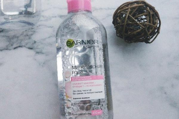 卡尼尔卸妆水味道 泡泡水的味道