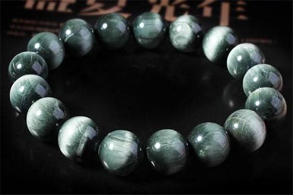 绿发晶手链价格 跟珠子品质有关