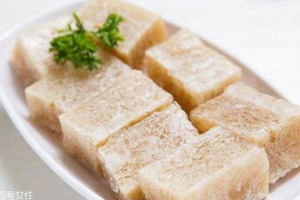 冻豆腐是怎么做成的 冻豆腐的食疗作用