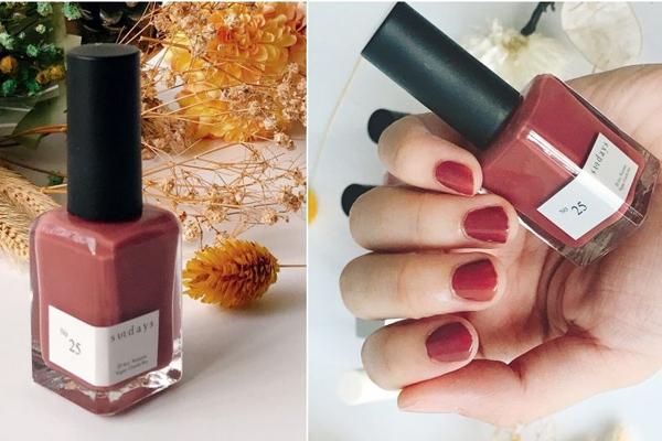 5款干燥玫瑰色指甲油推荐 美到让人买不停