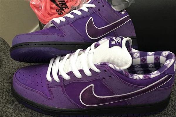 耐克dunk sb紫龙虾发售日期 欧文亲穿配色