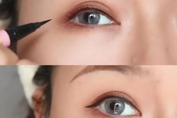 裸眼妆怎么化显眼睛大 3招打造裸妆大眼