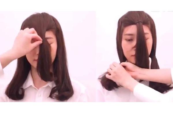 锁骨发怎么烫好看年轻 自己在家用卷发棒打造方法