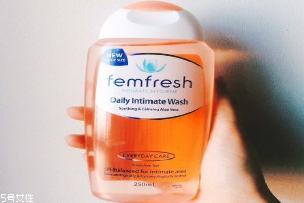 femfresh护理液如何用 温和无刺激的护理液