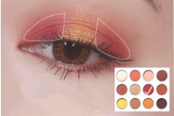 colourpop yes please眼影画法 colourpop眼影教程