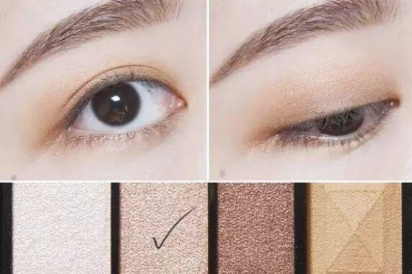 大地色眼妆的画法 超美的眼妆教程