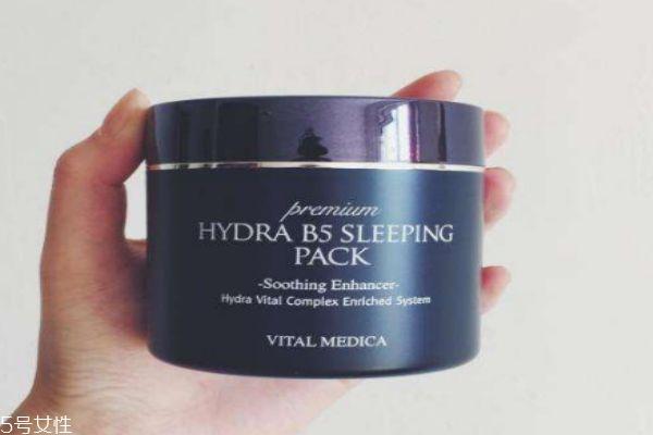 ahc睡眠面膜感觉好油 可能是如下原因