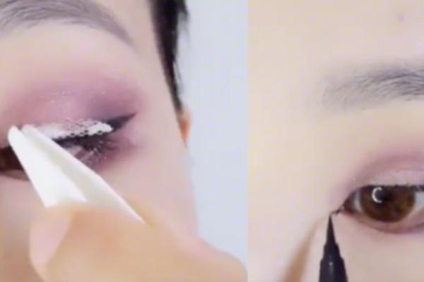 小眼睛怎么化妆好看图解法 小眼睛整容术