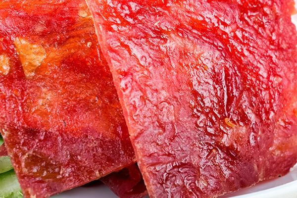 猪肉脯是软的还是硬的 硬中带软