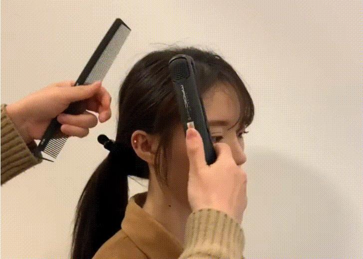 两鬓刘海怎么剪 世界杯手机投注网站发型两鬓刘海打理方法