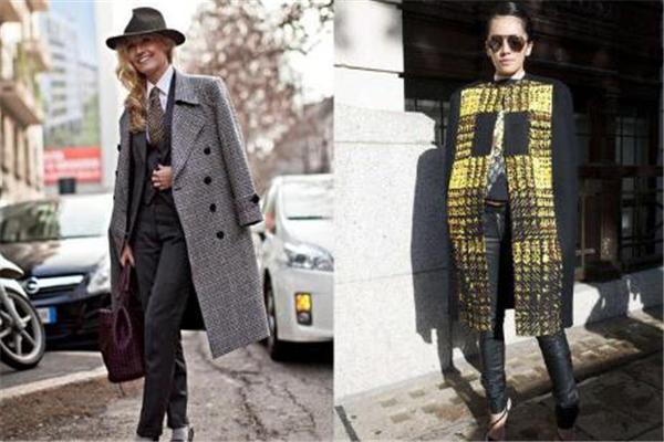 格纹外套如何搭配 玩转时髦范儿