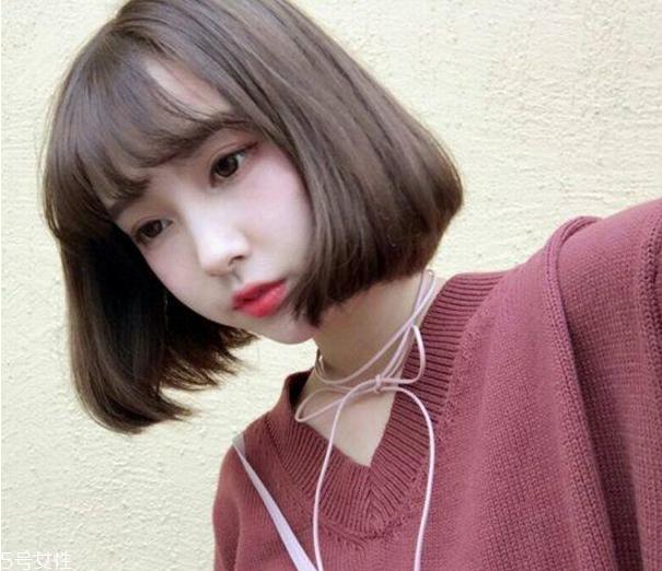 2019最流行的网红刘海 2019最新流行发型女图片