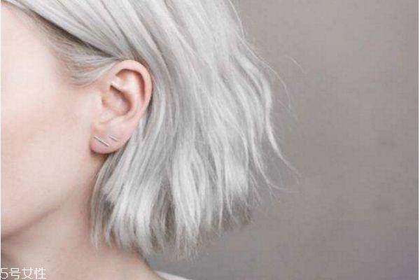网红最流行的发型发色图片
