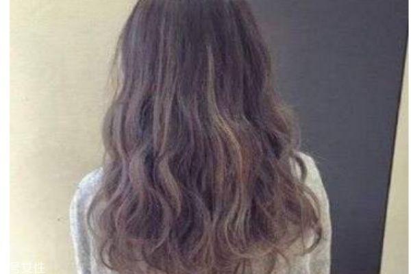 中卷长发烫发发型图片图片