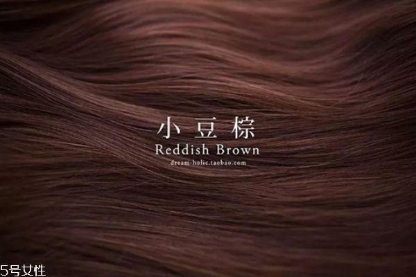 小豆棕色是什么颜色 小豆棕色头发图片
