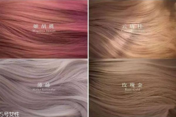 暖色系发色有哪些 2019年最流行的发色