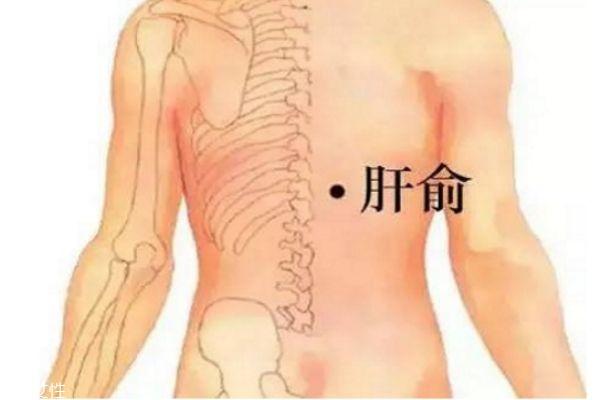 中医教你按摩穴位形成养肝护肝的好习惯