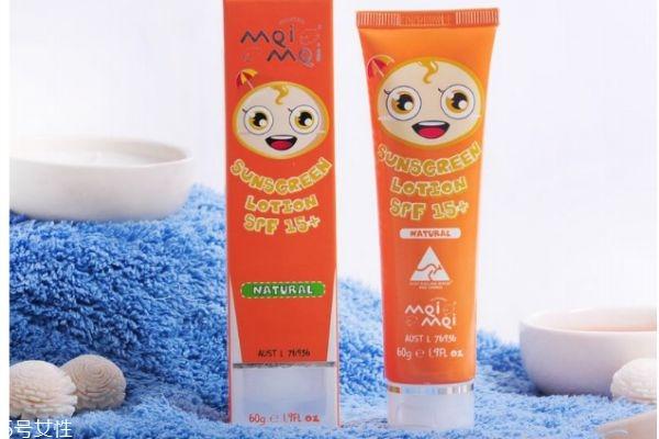 宝宝多大可以使用防晒品 儿童防晒注意事项