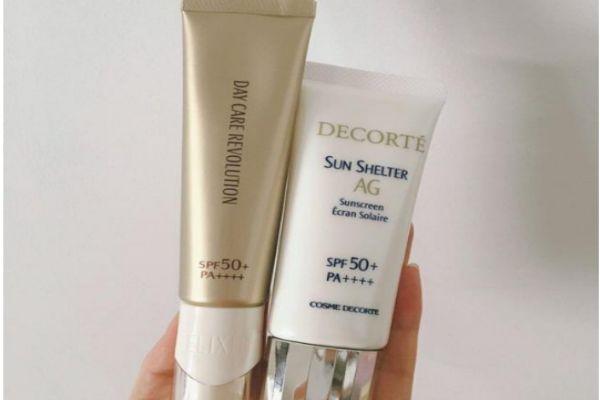 黛珂ag防晒和怡丽丝尔防晒哪款更好用 适合干皮的防晒