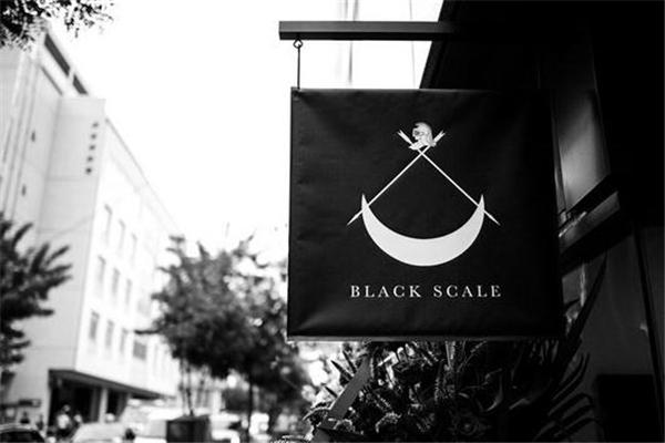 black scale是什么牌子 美国暗黑潮牌