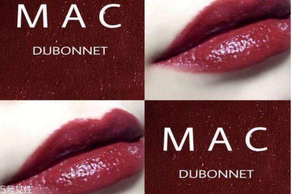 mac牛血色是什么色号 dubonnet是牛血色吗