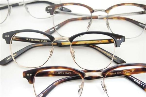 yellows plus眼镜价格 日系手工眼镜