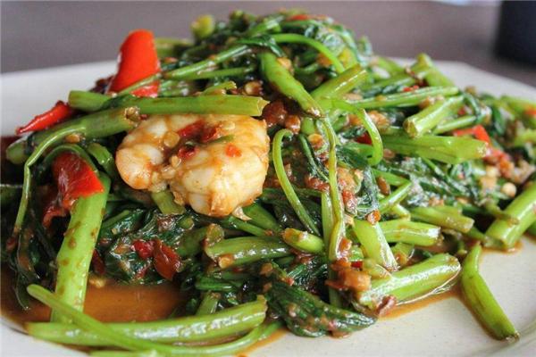 空心菜和海带能一起吃吗 量不能太多