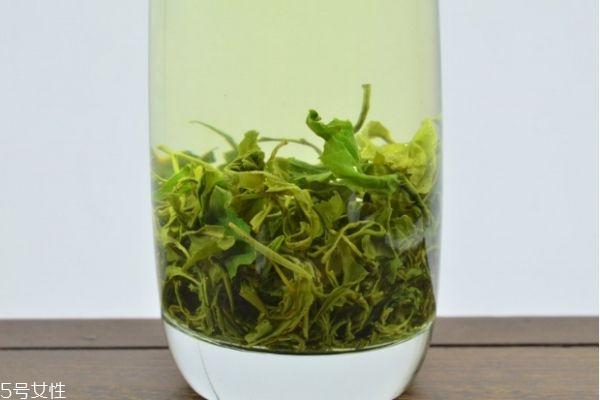 崂山绿茶品种图片