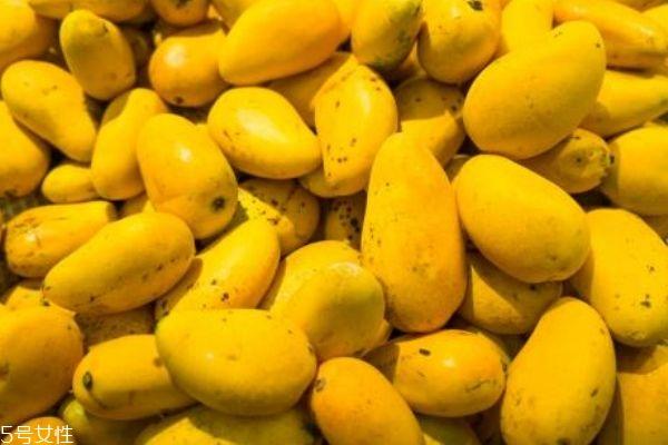 芒果上的黑点是什么 还能吃吗