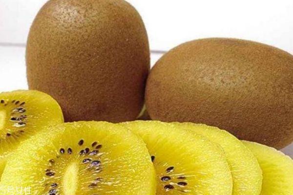 猕猴桃是黄心的好还是绿心的好 甜度和营养价值