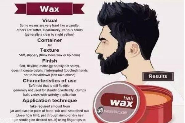 发油和发蜡的区别 发蜡塑性效果更好