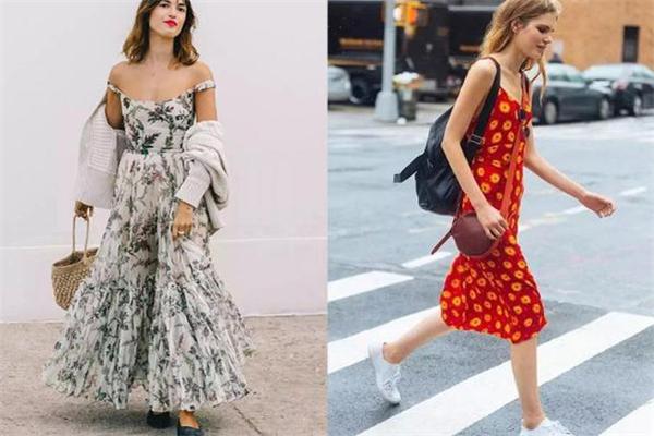 夏天穿什么连衣裙好看 19年必入款连衣裙