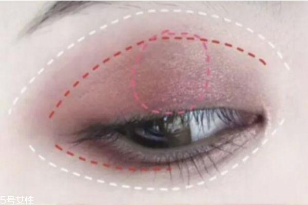 葵儿眼影盘搭配教程 葵儿眼影盘使用方法