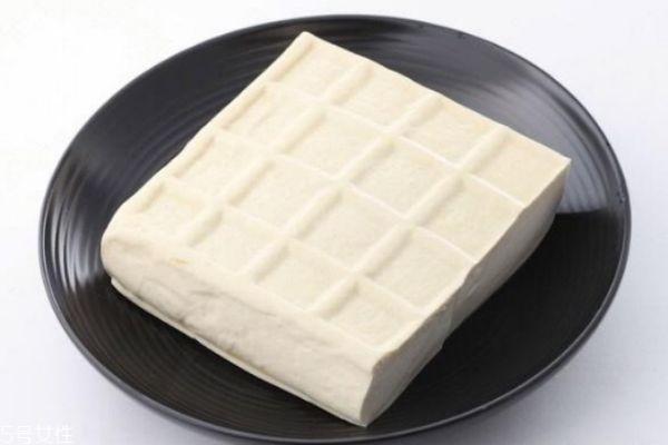 冬天豆腐怎么保存图片