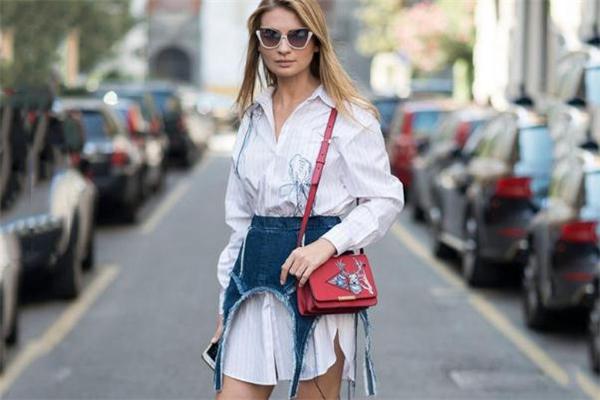 白色衬衫裙怎么搭配 春季时髦单品