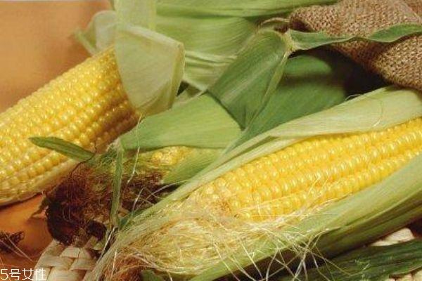 糯玉米和甜玉米的区别 以颜色区分