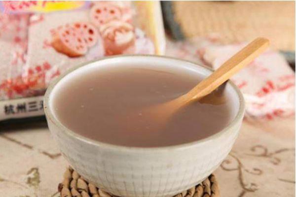 藕粉的功效与作用 教你自制纯鲜藕粉