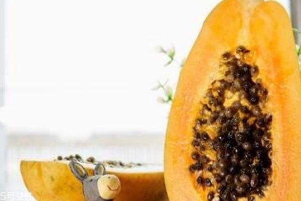 木瓜怎么吃可以丰胸 木瓜籽能吃吗