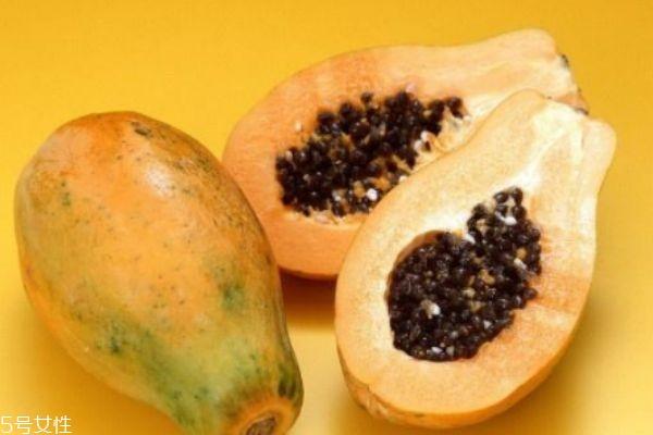 木瓜籽是白色的能吃吗 建议不要吃